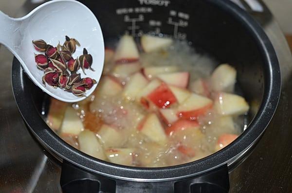 snow fungus soup step6
