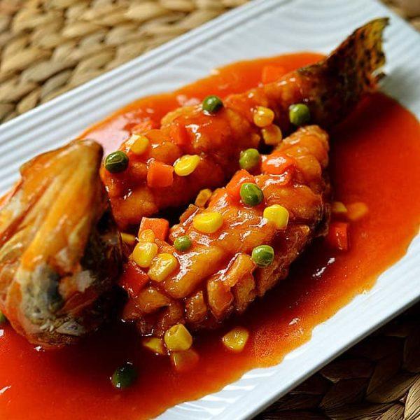 Chinese Squirrel Mandarin Fish Recipe